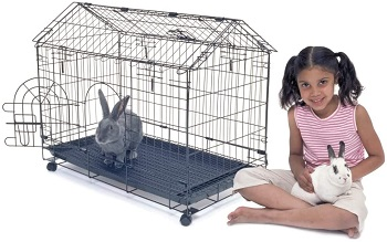 BEST METAL Kennel-Aire Cheap Indoor Rabbit Cage