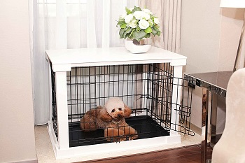 BEST METAL EXTRA LARGE DOG CRATE FURNITURE