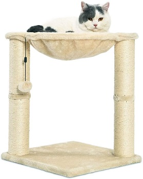BEST MINIMALIST CAT TOWER WITH HAMMOCK