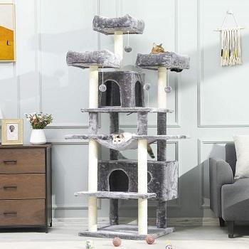 BEST MULTI-LEVEL HAMMOCK MSmask Large Cats Tree