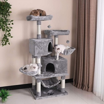 BEST OF BEST CAT TOWER WITH HAMMOCK