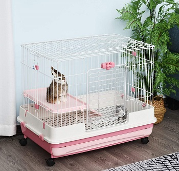 BEST OF BEST CUTE Pawhut 32 Bunny Cage