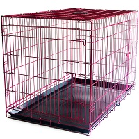 BEST OF BEST EXTRA LARGE PINK DOG CRATE Summary