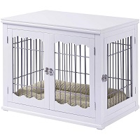 BEST OF BEST LARGE DECORATIVE Dog Crate End Table SUmmary