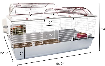 BEST OF BEST Living World Double Rabbit Cage