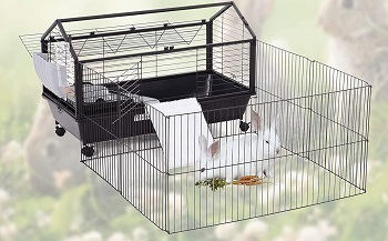 BEST PLAYPEN Cool Rabbit Cage
