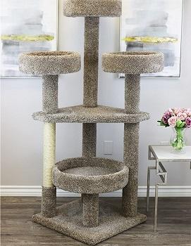 BEST SPACIOUS LARGE PERCHES Prestige Perch Cat Tree