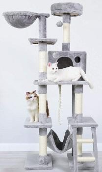 BEST TALL HAMMOCK Rabbitgo Large Cats Tree