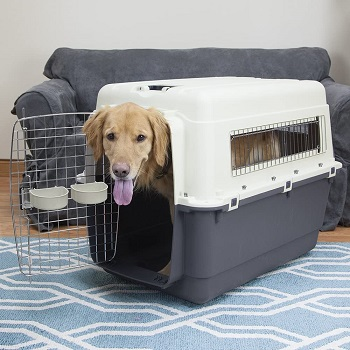 BEST AIRLINE APPROVED 40-inch DOG CRATE