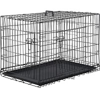 Best Cheap Large Double Door Double Door Folding Dog Cage Summary