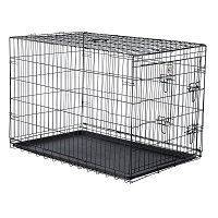 Best Folding Cheap 42-in Folding Pet Crate Summary
