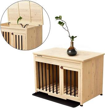 Best Folding Indoor Wooden Wooden Foldable Pet Crate