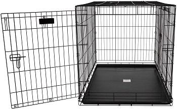 Best For Puppies Large Double Door Great Crate