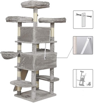 Best Fun Cat Tree With Large Perches