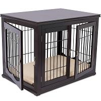 Best Furniture Style Indoor Wooden Decorative Dog Kennel Summary