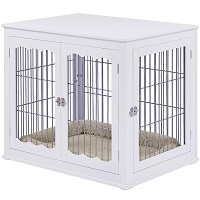 Best Furniture-Style Large Double Door Pet Crate End Table Summary