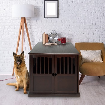 BEST OF BEST EXTRA LARGE DOG CRATE FURNITURE