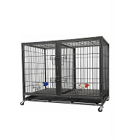 Best Heavy-Duty Large Double Door Heavy Duty Dog Crate Summary