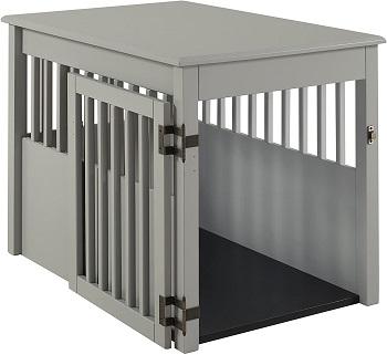 Best Medium Indoor Furniture BarkWood Pet Crate End Table