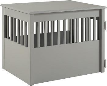 Best Medium Indoor Furniture Pet Crate End Table