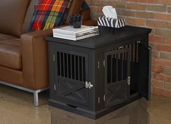 Best Medium Indoor Furniture Triple Door Dog Crate