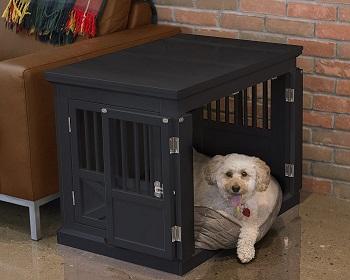 Best Medium Indoor Furniture Zoovilla Triple Door Dog Crate