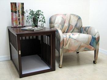 Best Medium Indoor Wooden Crown Pet Products Pet Crate