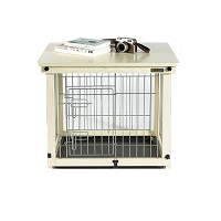 Best Small Indoor Furniture Wood & Wire Dog Crate SUmmary