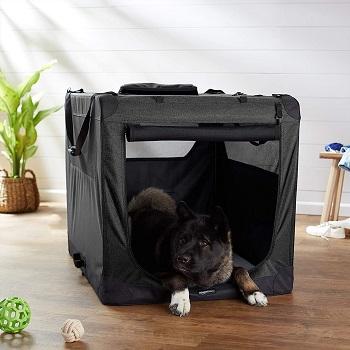 Best Soft Cheap Amazon Basics Soft Pet Dog Crate