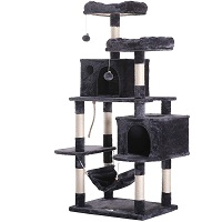 Best Wide cat tree with hammock for large cats summary
