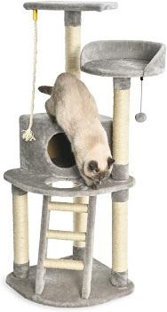 Best With Condo Gray Cat Tree