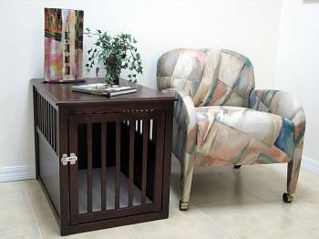 Best Wooden Indoor Furniture Crown Pet Products Pet Crate