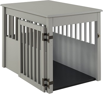 Best Wooden Large Indoor BarkWood Large Pet Crate