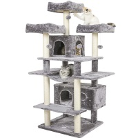 Best multi-level cat tree with hammock for large cats summary