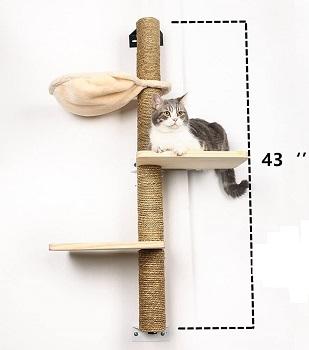 Big Nose Wall Tall Cat Tree
