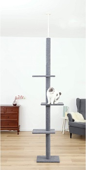 Cat Craft Floor-To-Ceiling Cheap Cat Tower Review