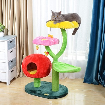 Catry Colorful Flower Condo Tree Review