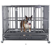FURUISEN Heavy Duty Dog Crate Summary