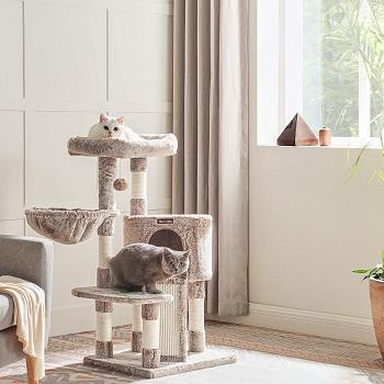 Feandrea 2-Cat Cat Tree Review
