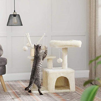 Feandrea Small Cat Tower Small Homes Review