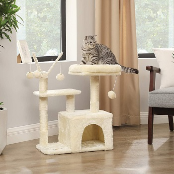 Feandrea Small Cat Tower Small Homes