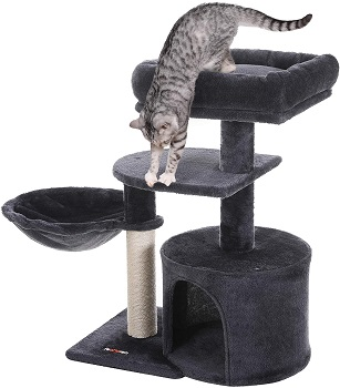 Feandrea Small Cat Tower With Condo Review