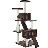 GleePet GP78700623 Cat Tower With Ramp Summary