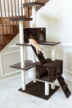 GleePet GP78700623 Cat Tower With Ramp