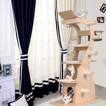 Good Life Deluxe Solid Cat Tower