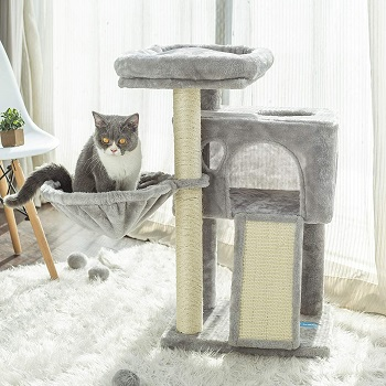 Hey Brother Plush House Cat Tower Review
