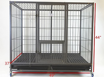 Homey Pet Stacking Heavy Duty Cage