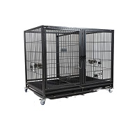 BEST HEAVY DUTY 42 INCH CRATE WITH DIVIDER Summary