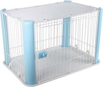 IRIS Wire Dog Crate Review (2)