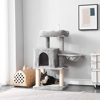 Ibuyke Cat Tree With Two Beds Review